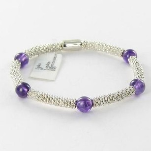 Links of London Links Of London 5010.2061 Amethyst Effervescencebracelet 925 Silver