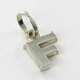 Links of London Links Of London 5030.1099 Charm Pendant Alphabet Letter F 925 Silver