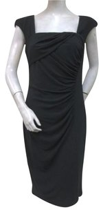 London Times Draped Dress