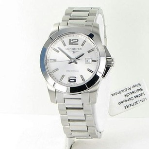 Longines Longines L32774766 Conquest Silver Dial Steel Swiss 29mm Ladies Watch