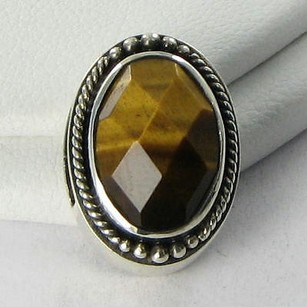Lori Bonn Lori Bonn 29825te Slide Charm All Eyes On Me Tigers Eye Sterling Silver