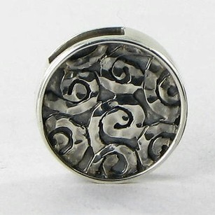 Lori Bonn Lori Bonn 29914 Slide Charm Starry Night Sterling Silver