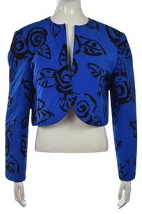 Louis Feraud Womens Blue Jacket