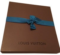 Louis Vuitton Authentic Gift/Storage Box 19 x 17 x 2.5 with LV tissue and ribbon
