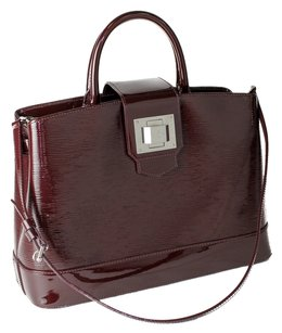 Louis Vuitton Satchel in Oxblood
