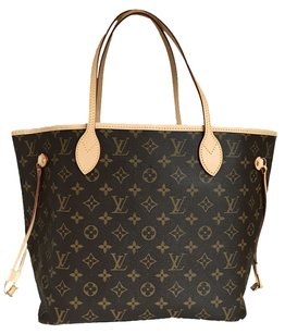Louis Vuitton BRAND NEW 2015 Neverfull Nm Mm Monogram Tote Bag. Made In Usa