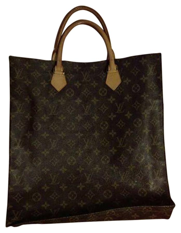 Louis Vuitton Canvas Sac Plat