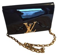 Louis Vuitton Dark burgundy or mahagani color Clutch