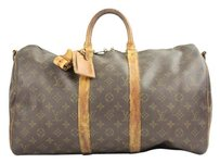 Louis Vuitton Duffle Keepall 50 Weekend monogram Travel Bag