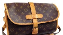 Louis Vuitton France Monogram Cross Body Bag