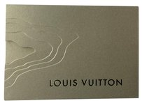 Louis Vuitton Gold card case with card