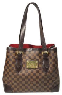 Louis Vuitton Hampstead Damier Tote in Brown