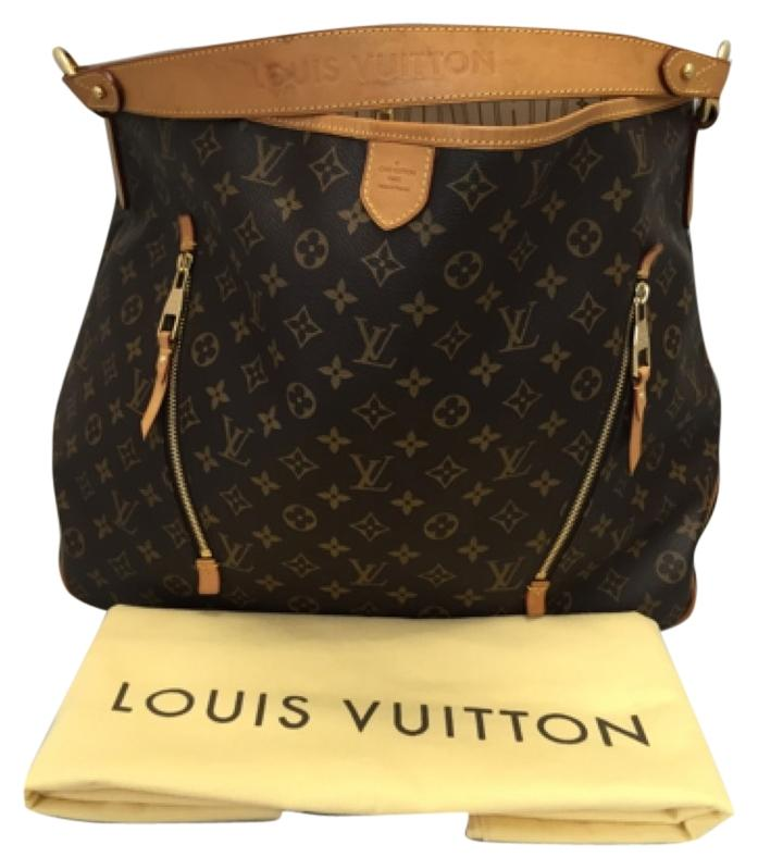 louis vuitton delightful gm monogram with dustbag hobo bag