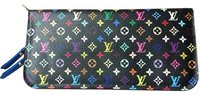 Louis Vuitton Louis Vuitton- Black Multicolor Insolite Bluet Wallet