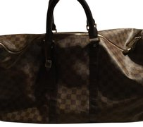 Louis Vuitton inspired damier keepall 45 ebony Travel Bag