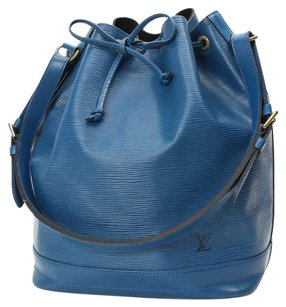 Louis Vuitton Leather M44005 Noe Satchel in Blue