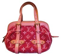 Louis Vuitton Limited Edition Gracie Satchel in Pink