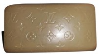 Louis Vuitton Louis Vuitton Dune Beige Vernis Monogram Leather Zippy Long Wallet