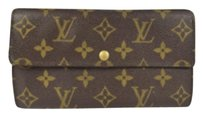 Louis Vuitton Louis Vuitton Long Bifold Wallet