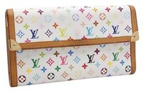 Louis Vuitton Louis Vuitton Porte Tresor International Multicolor Monogram Long Wallet