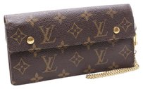 Louis Vuitton Louis Vuitton Portefeiulle Akorudion Monogram Bifold Long Wallet