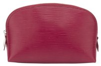Louis Vuitton Louis Vuitton Red Epi Cosmetic Pouch (Authentic Pre Owned)
