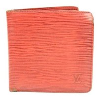 Louis Vuitton Louis Vuitton Red Epi Wallet