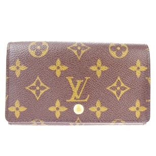 Louis Vuitton LOUIS VUITTON Tresor Bifold Monogram Leather Wallet Purse