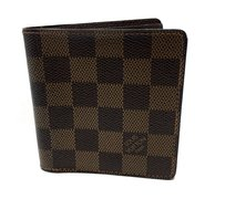 Louis Vuitton Louis Vuitton Unisex Mens Damier Mens Portefeuille Marco Bifold Wallet