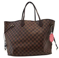 Louis Vuitton Lv Neverfull Gm Damier Ebene Shoulder Bag