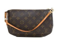 Louis Vuitton Monogram Canvas Brown Clutch