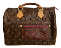 Louis Vuitton Monogram Limited Edition Rare Tote in Brown, Pink