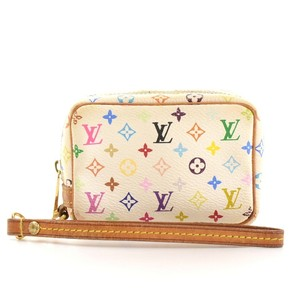 Louis Vuitton Multicolor Monogram Pouch Satchel