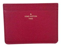 Louis Vuitton NEW Fuchsia card case Jeanne wallet