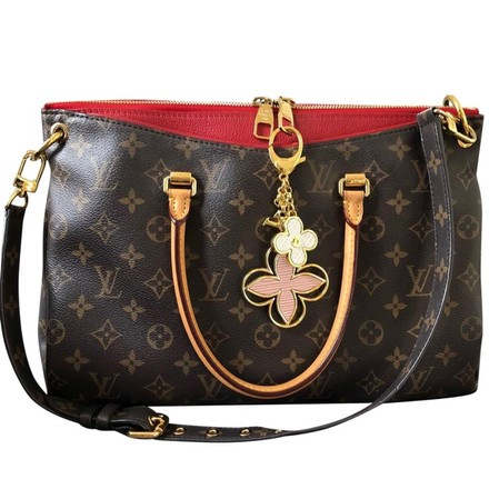 Preload https://item1.tradesy.com/images/louis-vuitton-pink-white-bag-charm-23997630-0-0.jpg?width=440&height=440