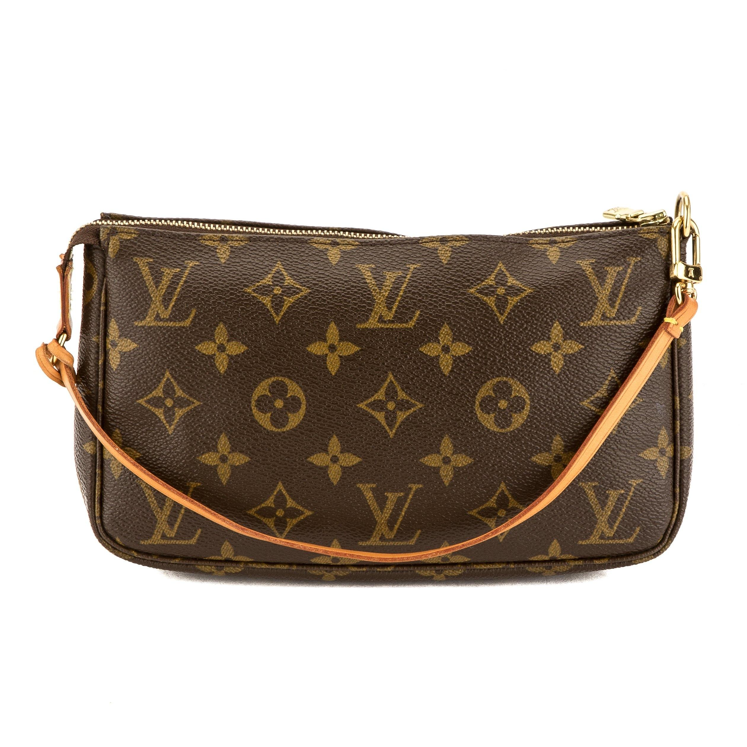 Pre-owned - Pochette Monogramme leather clutch bag Louis Vuitton fbrFX