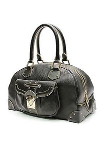 Louis Vuitton Suhali Leather Le Superbe Satchel in Black