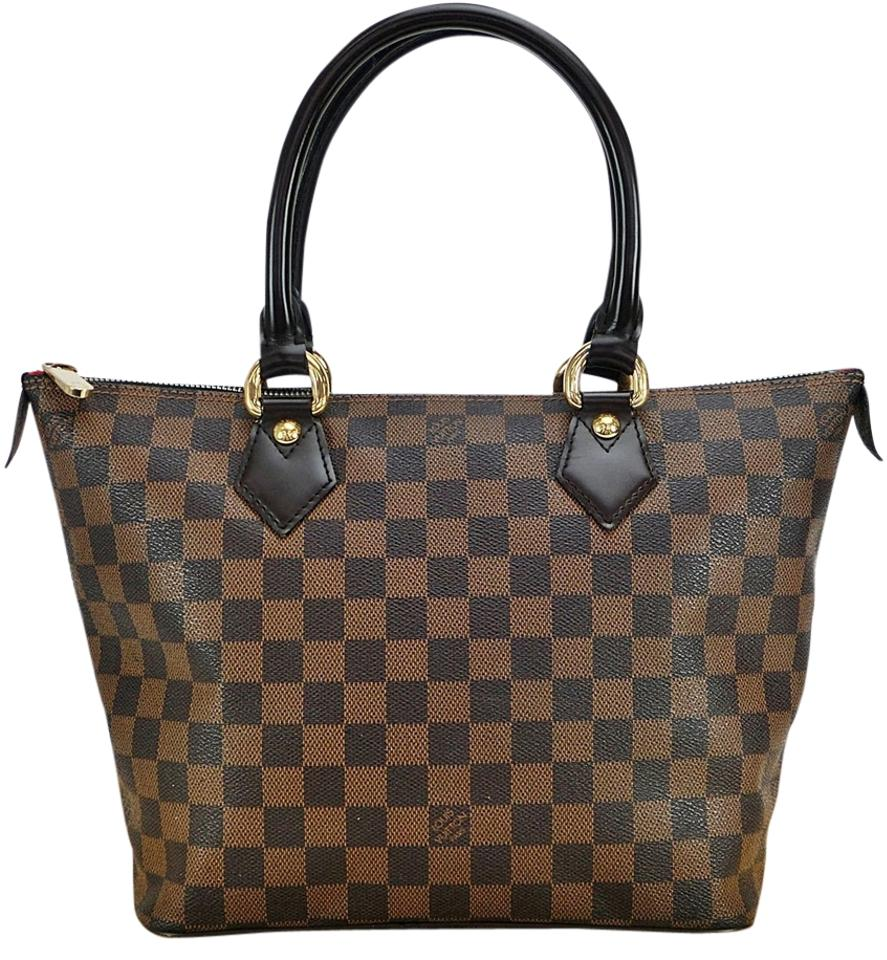 Louis vuitton brown pvc saleya shoulder bag tradesy for Louis vuitton miroir bags