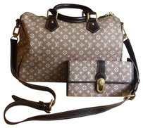 Louis vuitton speedy 30 Bandouliere with Matching Wallet Cross Body Bag