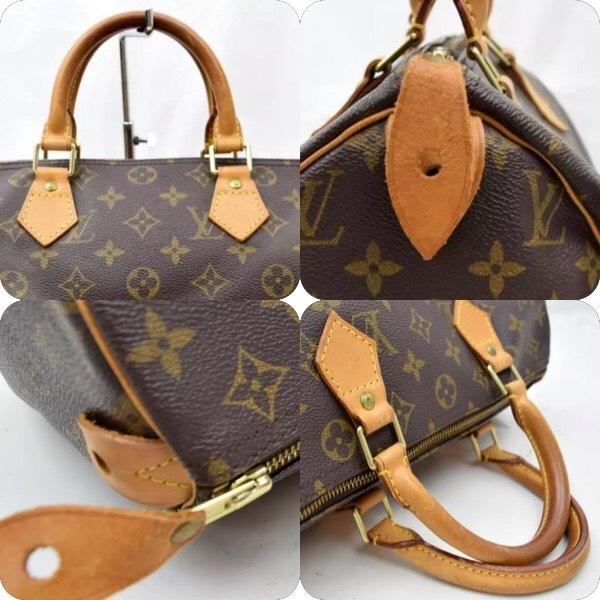 Louis Vuitton Speedy 30 Bag In Brown Monogram Canvas And Natural Cow Leather QyNTw4gAK