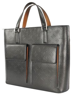 Louis Vuitton Th 0042 Leather Hand Tote in Gray