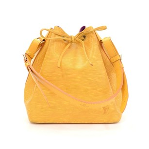 Louis Vuitton Yellow Leather Shoulder Bag