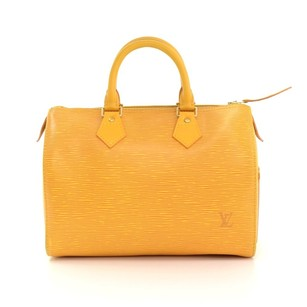 Louis Vuitton Yellow Travel Bag