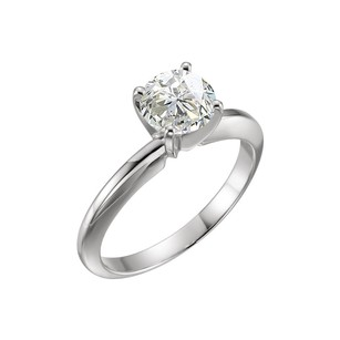 LoveBrightJewelry 1.72 Carat Certified Diamond Solitaire Engagement Ring in Platinum