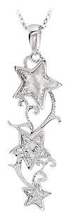 LoveBrightJewelry 18 Inch Shoot For The Stars Sterling Silver Pendant