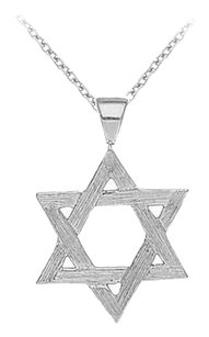 LoveBrightJewelry 925 Sterling Silver Star Pendant Necklace