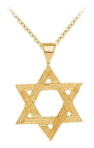 LoveBrightJewelry Beautiful Yellow Gold vermeil Star Pendant with Free 16 Inch Chain Pretty Design Best Price