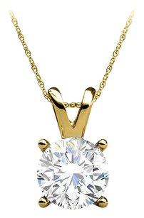 LoveBrightJewelry Conflict Free Diamond Earrings Pendant Set Yellow Gold