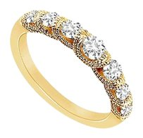 LoveBrightJewelry Diamond Ring 14K Yellow Gold 0.75 CT Diamonds