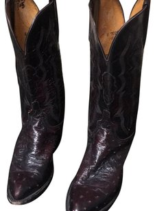 Lucchese Burgundy Boots